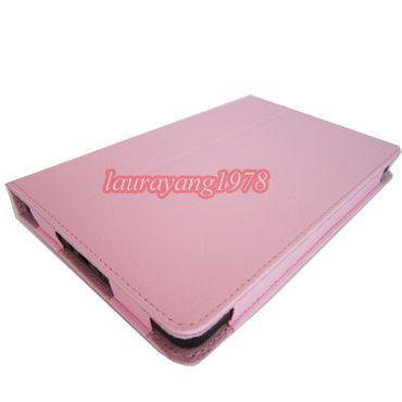 Leather Case Pouch Stand Cover for  Kindle Fire 7 Tablet