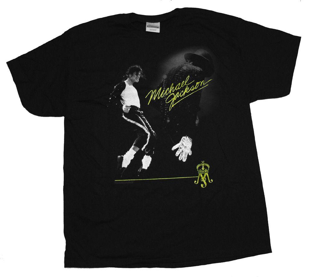 Michael Jackson Dancing London Tour T Shirt Tee