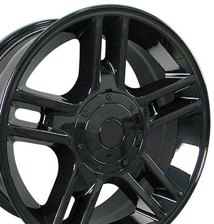 20 Black F150 Black Harley Wheels 20x9 Rims Fit Ford Set