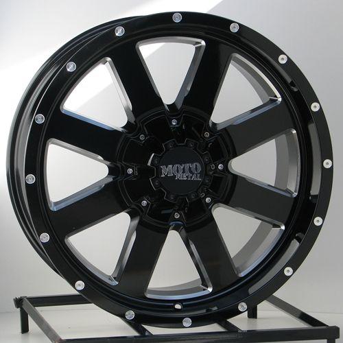 Black Wheels Rims Chevy Silverado GMC Sierra 2500 3500 2011 2012 8x180