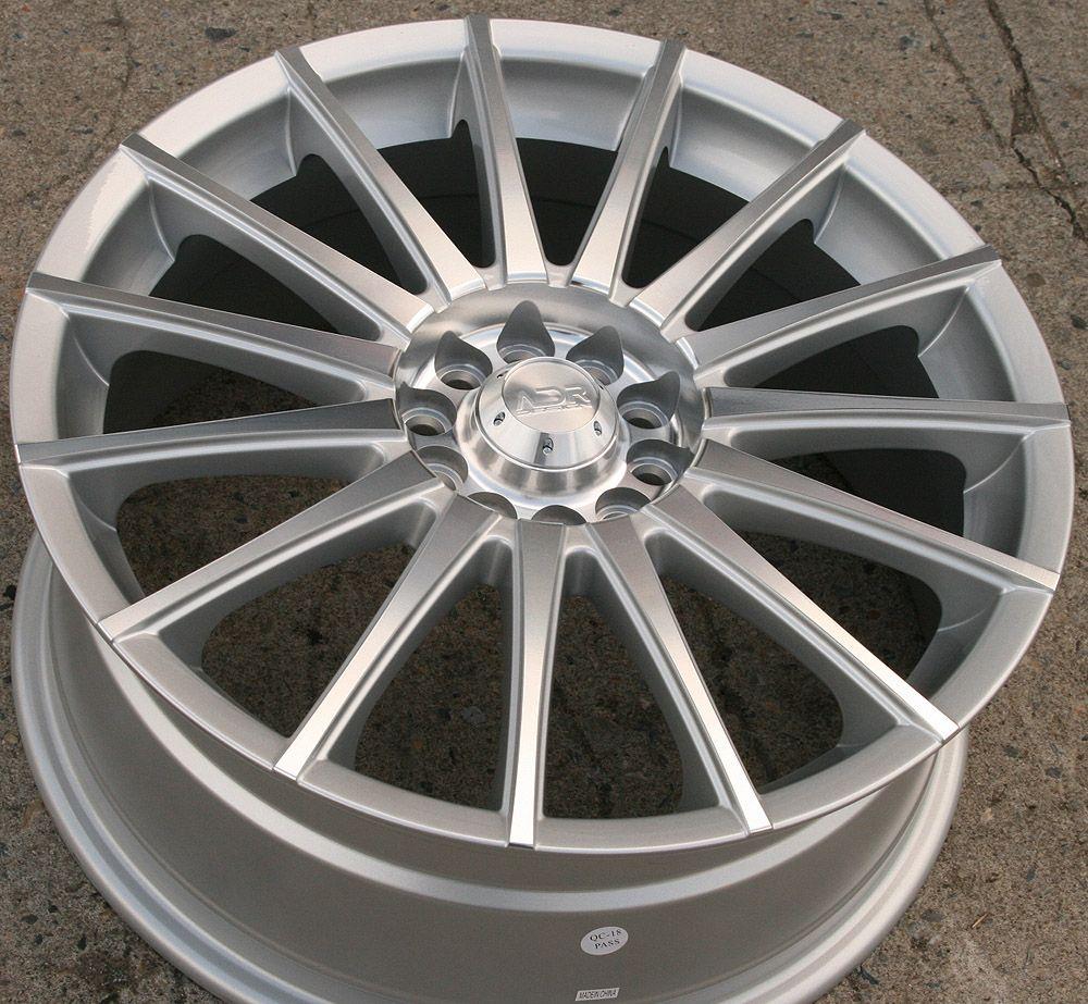 18 Silver Rims Wheels Maxima Altima Murano 18 x 7 5 5H 42