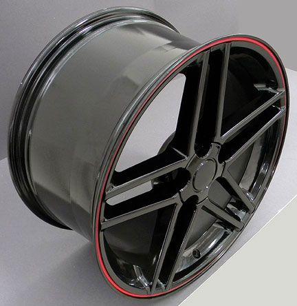 18 Corvette C6 Z06 Style Wheels Set Rim Fits Camaro