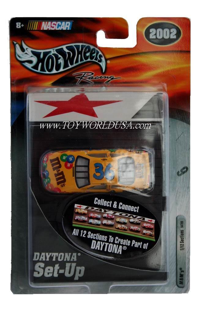 Hot Wheels Racing NASCAR Daytona Set Up M Ms 36 Pontiac Grand Prix