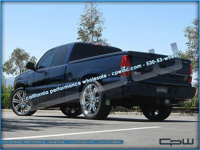Chrome Plated 24 inch Chevrolet Wheels GMC Cadillac Rims