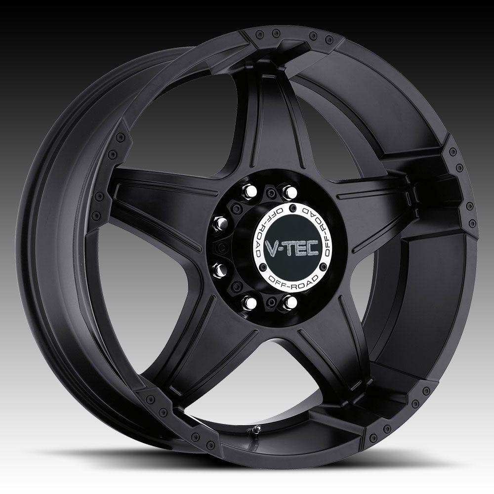 18 inch 8x6 5 8x165 1 Black Wheels Rims 8 Lug Dodge RAM 2500 3500