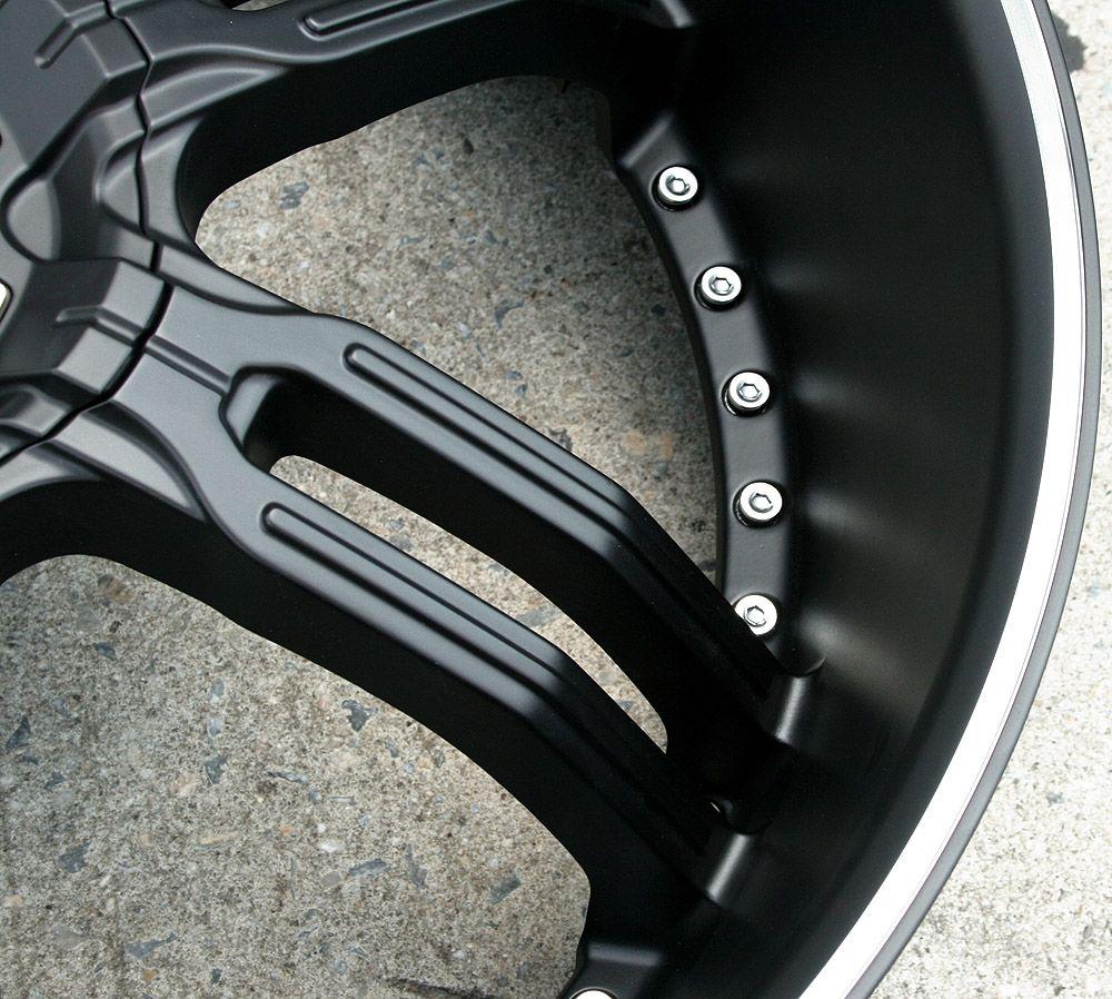26 Black Rims Wheels GMC Envoy 6x127 Rainier 26 x 9 5 6H 30