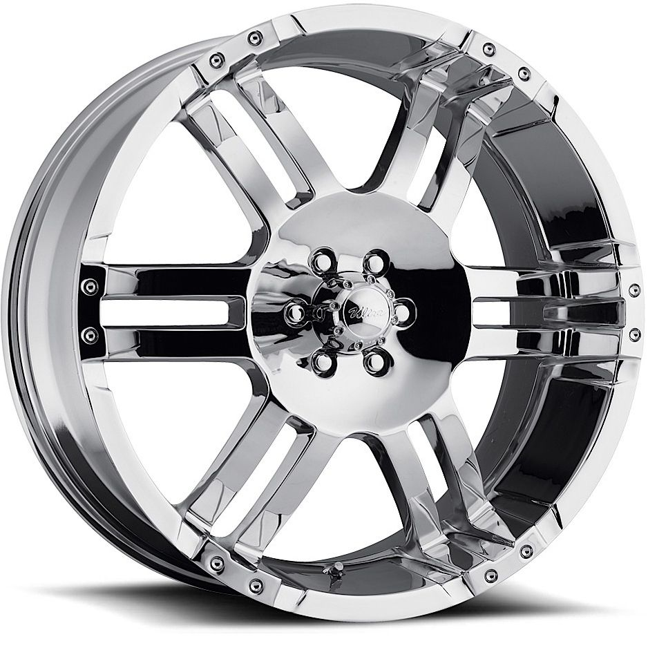 22x9 5 Chrome Ultra Lightning Wheels Rims Ford F 250 F 350 Excursion