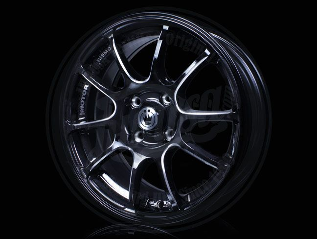 KONIG ILLUSION WHEELS RIMS SET 15 X 6.5 4 X 100 +38 4 LUG BLACK