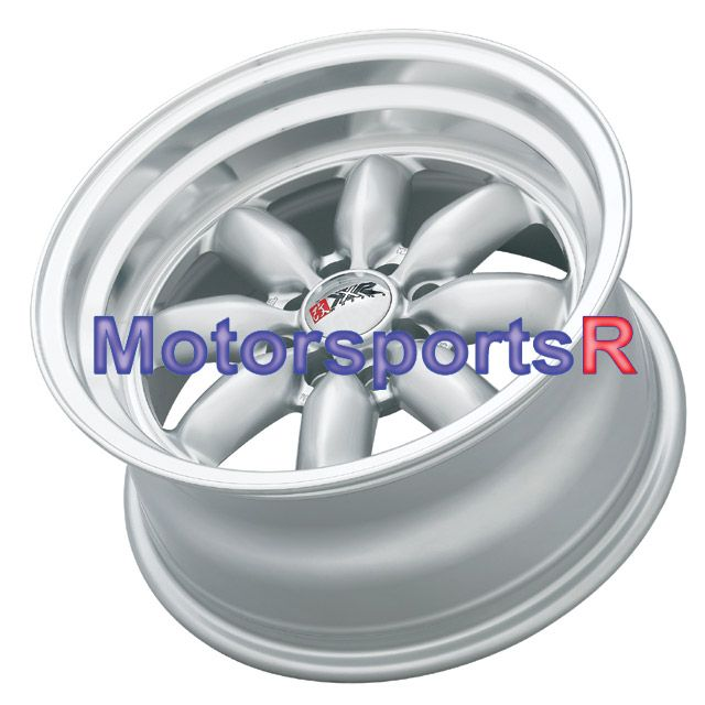 513 Hyper Silver Rims Wheels Deep Dish 85 87 Toyota Corolla GTS AE86
