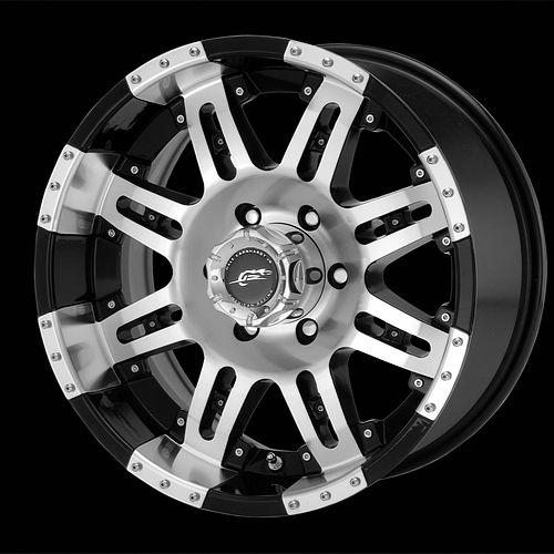 17 inch Wheels Rims Black Chevy Silverado 1500 Tahoe GMC Sierra Yukon