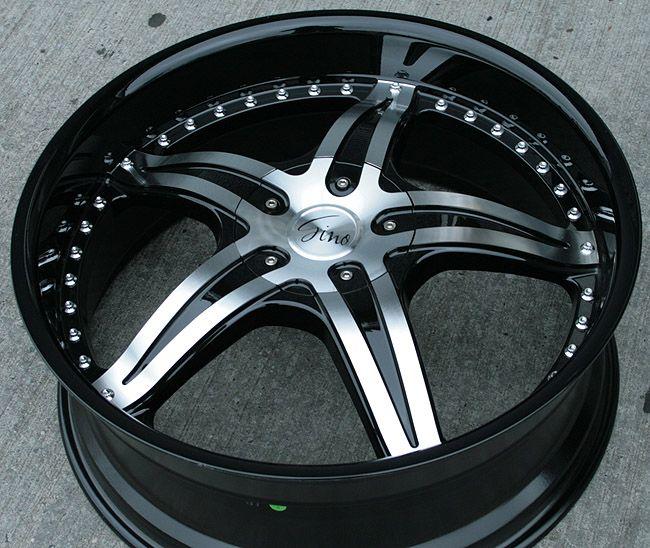 RVM 497 22 Black Rims Wheels Lexus ES330 GS300 SC300