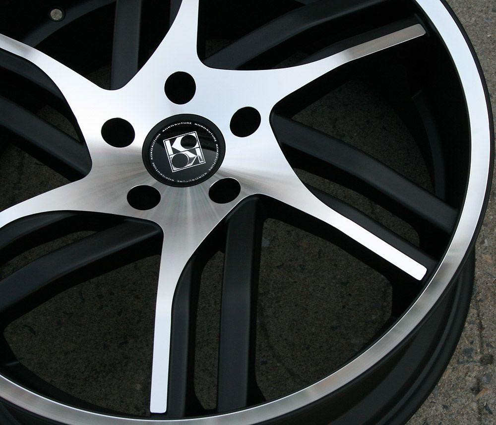 Koko Kuture Spline 20 Black Rims Wheels GMC Terrain 10 Up 20 x 10 5H
