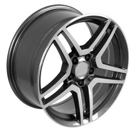 19 Gunmetal AMG Wheel Rim Fits Mercedes C E s Class SLK CLK CLS 40mm
