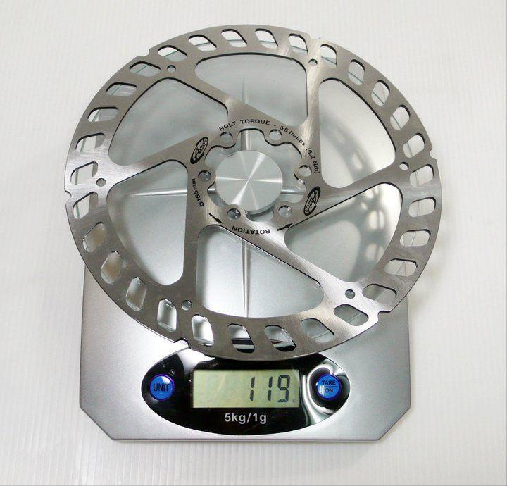 Avid MTB Disc Brake Rotor/IS Standard 6 Bolts/1pcs /119g/165mm/Silver