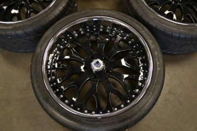 22 asanti Wheels Rims Ford Truck SUV 5x135 Expedition F150 Lincoln