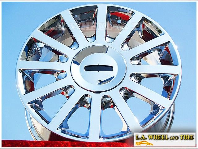 OF 4 NEW 17 LINCOLN TOWN CAR OEM CHROME WHEELS RIMS MKS MKZ MKX 3636