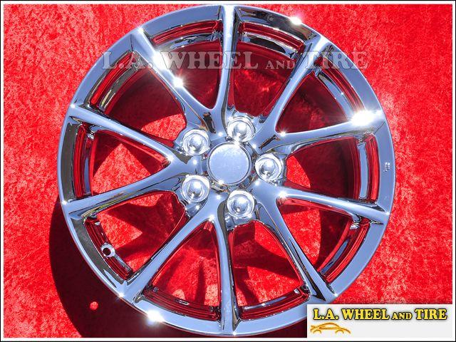 of 4 New Mazda MX 5 Miata 17 Chrome Factory Wheels Rims 64923