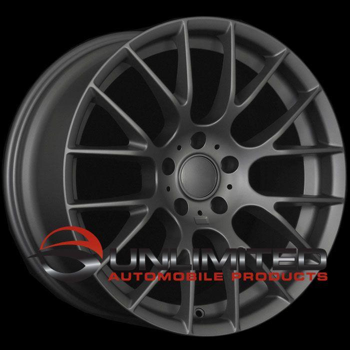 19 BMW M3 Competition Gunmetal Wheels Rims Fit BMW E46 E90 E92 E93 3