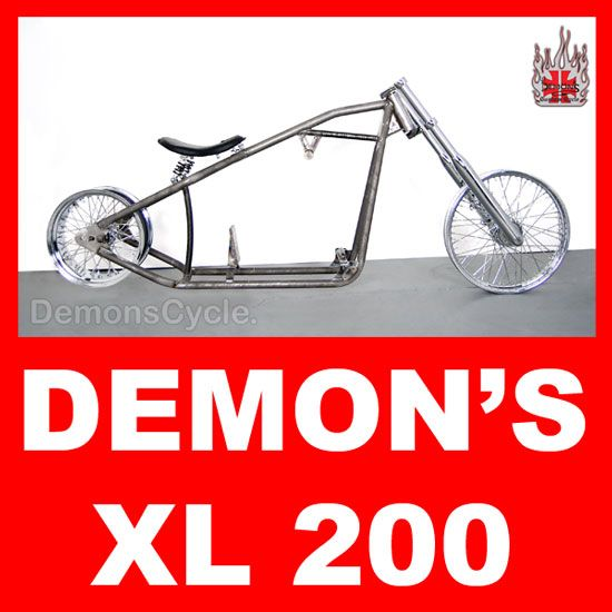 200 Rolling Chassis Frame Fits Harley Sportster Engines