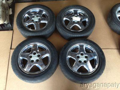 95 96 97 98 Nissan 240sx Wheels Rims Stock Factory 16 Chrome