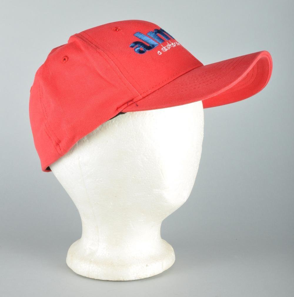 Almost Skateboards Red Skate Baseball Cap Hat s M