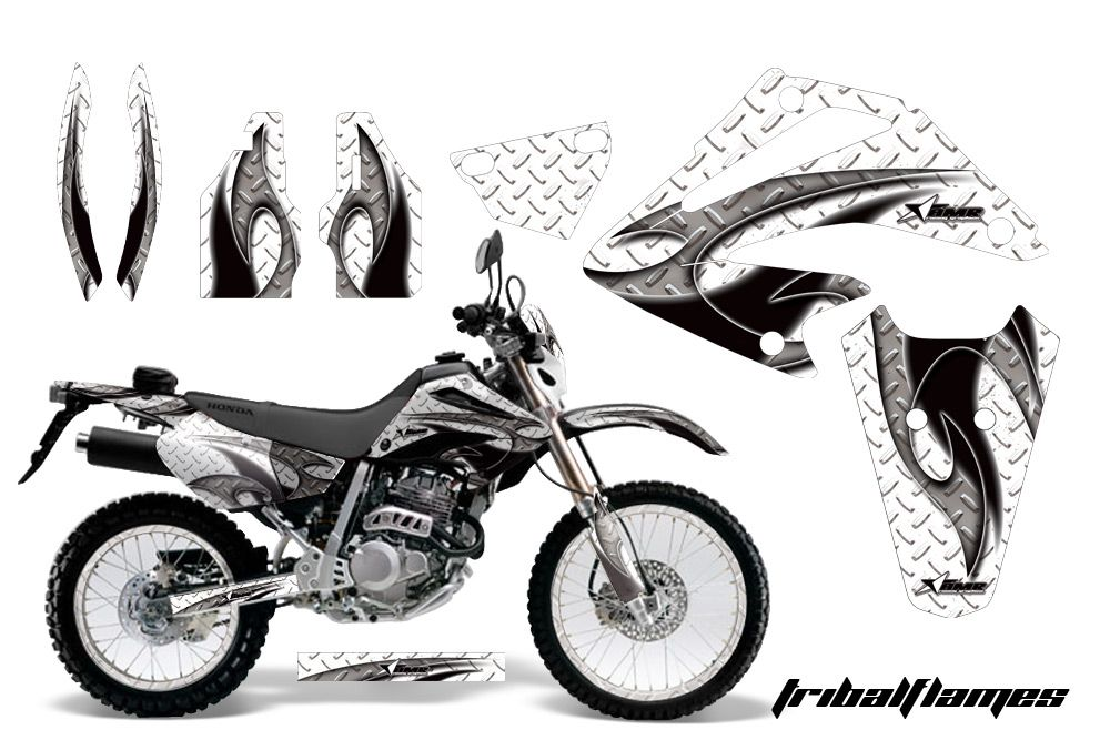 AMR Racing Honda XR250 SM Graphic Kit Sticker Dekor Number Backgrounds