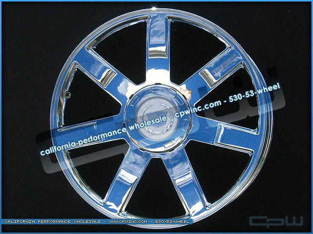 New 24 inch Chrome Plated Wheels Rims Fits Cadillac Escalade Tahoe
