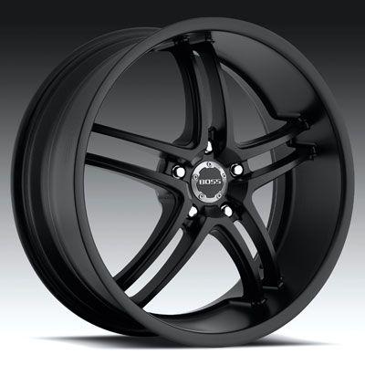 20 x8 5 Boss 340 3408 Black Wheels Rims 5 Lug