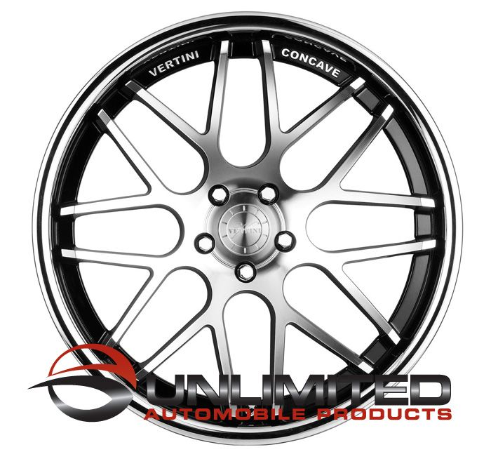 19 Vertini Magic Staggered Wheels Rims Fit Nissan 350Z 370Z Altima