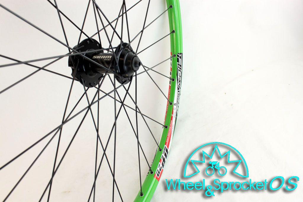 New Alex DP20 SRAM Green Disc Mountain Bike Wheel Set