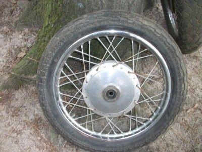 1980 Kawasaki KZ440 KZ 440 Front Wheel Rim Tire