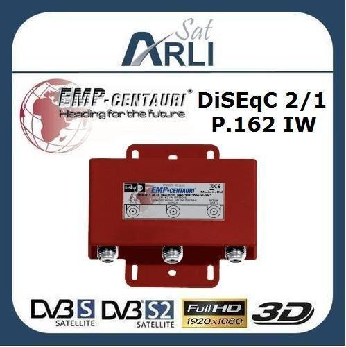 Class DiSEqC Schalter 2/1 High Quality 2 1 HD switch P.162 IW