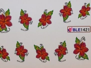 Nail Art Sticker Tattoo One Stroke BLE 1421