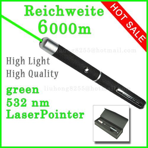 Laserpointer Grün 6000m 532nm High power laser pointer High Quality