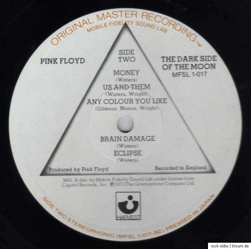 PINK FLOYD   The Dark Side Of The Moon MFSL LP