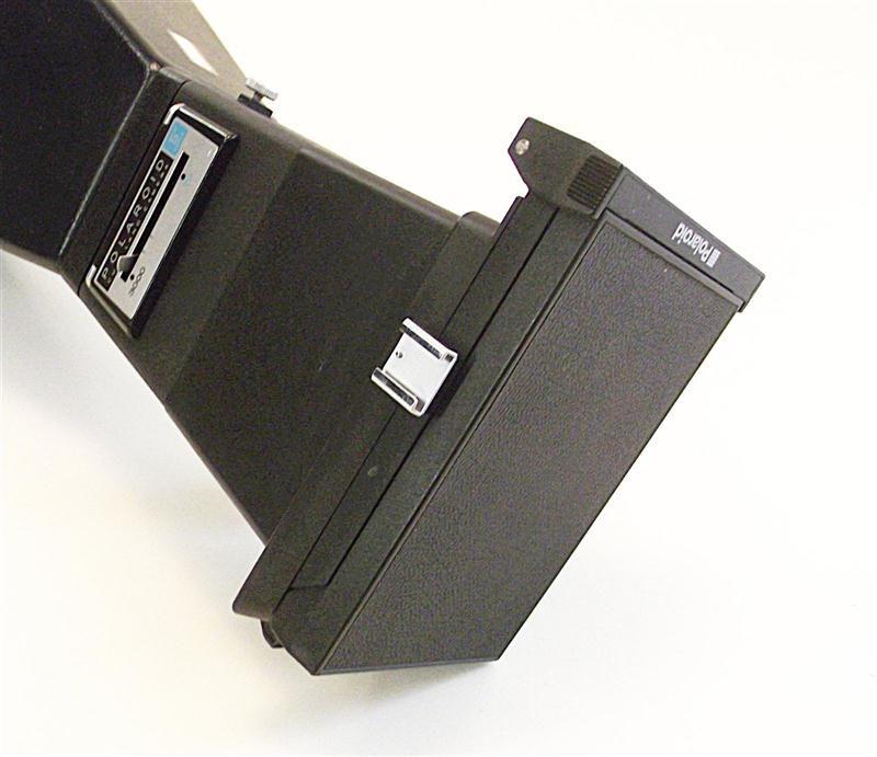 Polaroid CU 5 Land Camera 5 Lens mit Haube und Griff