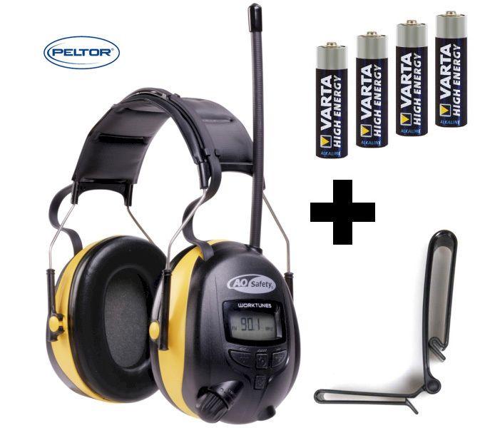 PELTOR/3M 24dB Digital Radio High Quality Gehörschutz Kopfhörer