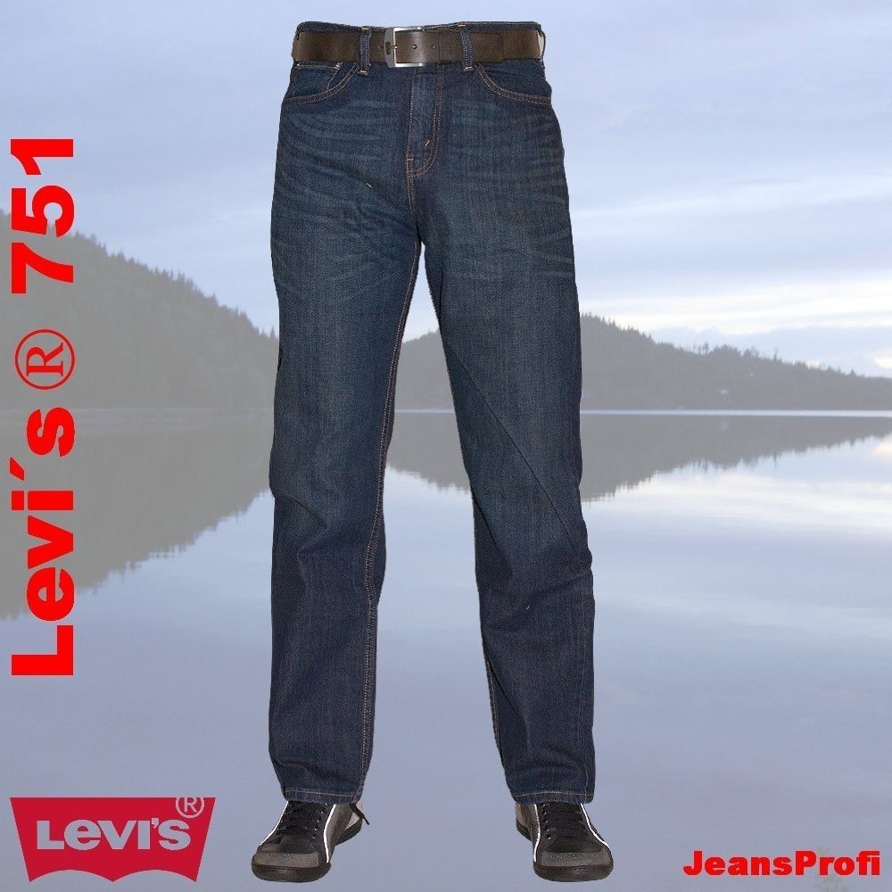 levis 751 standard stretch green tint herren jeans hose. Black Bedroom Furniture Sets. Home Design Ideas
