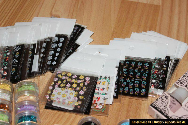 Mega Nagelstudioauflösung  Alessandro Nail Art Sticker Tips
