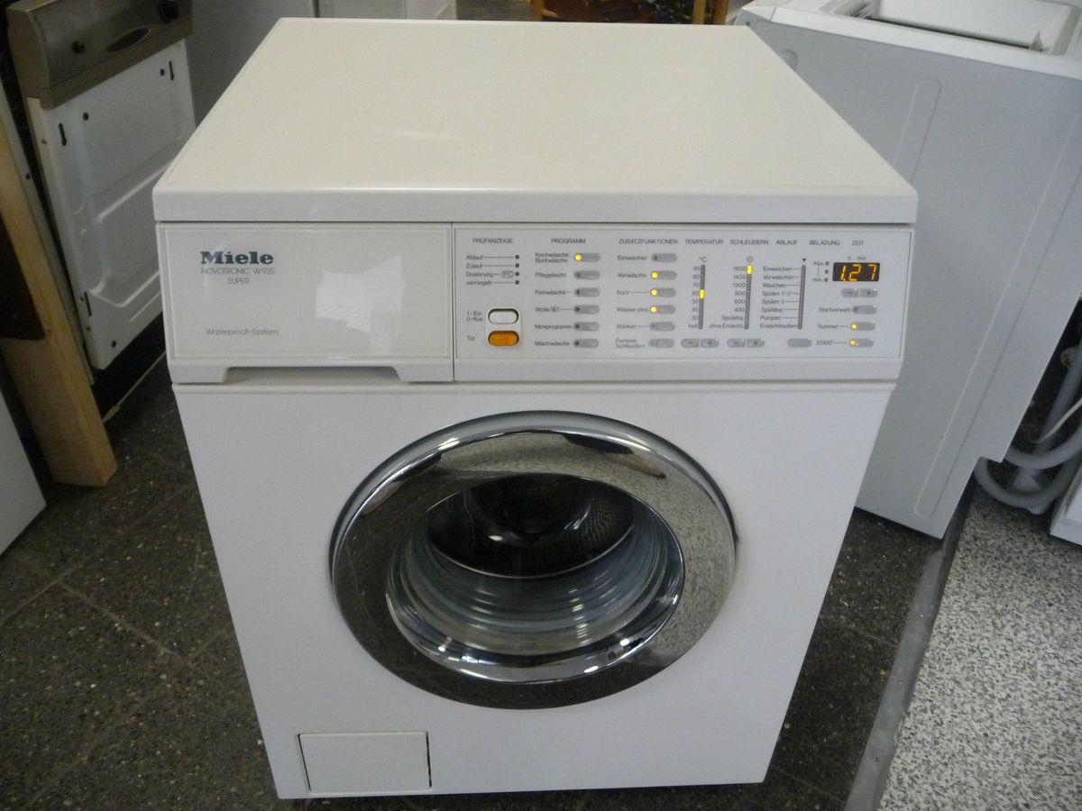 Miele novotronic w 935 wps frontlader 1600u min a a a waschmaschine