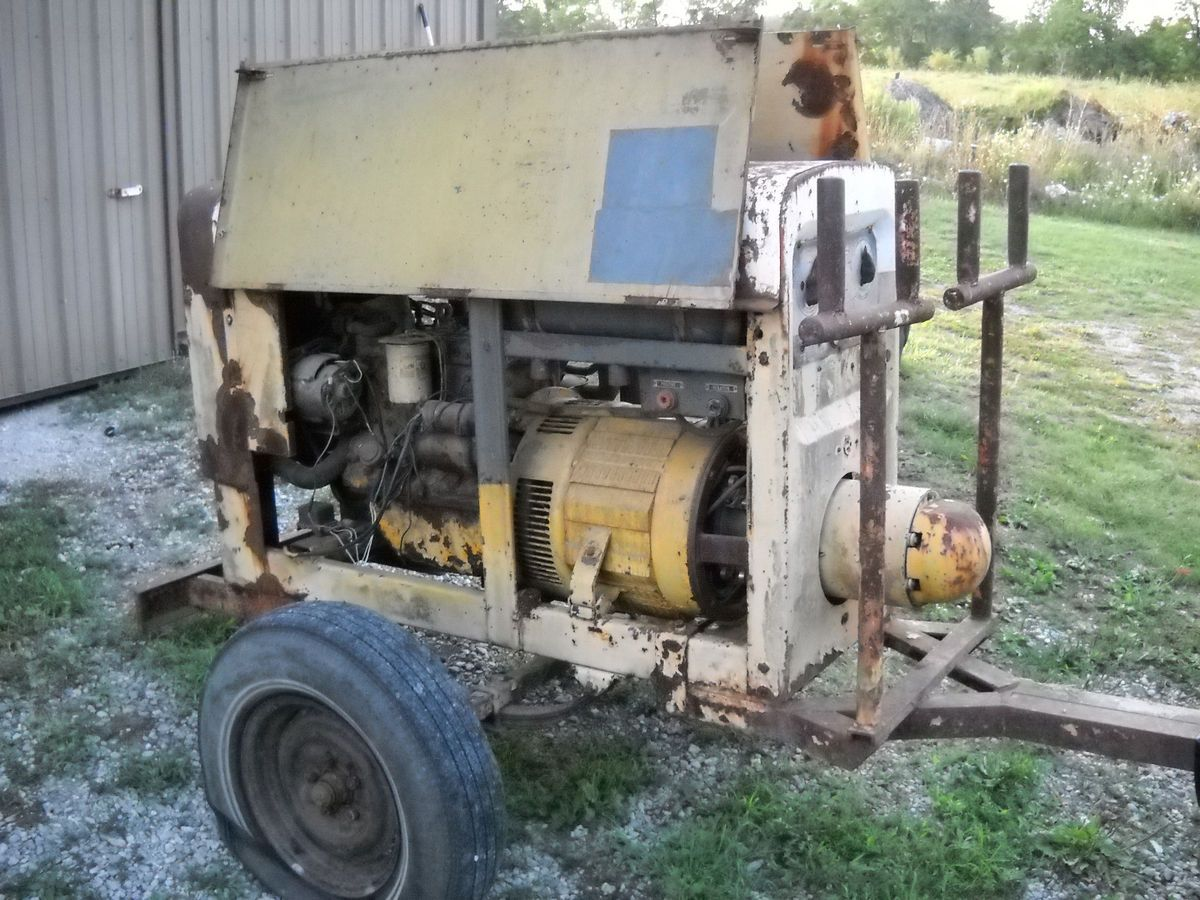 SA 200 F163 Welder Continental Engine Needs Work Indiana